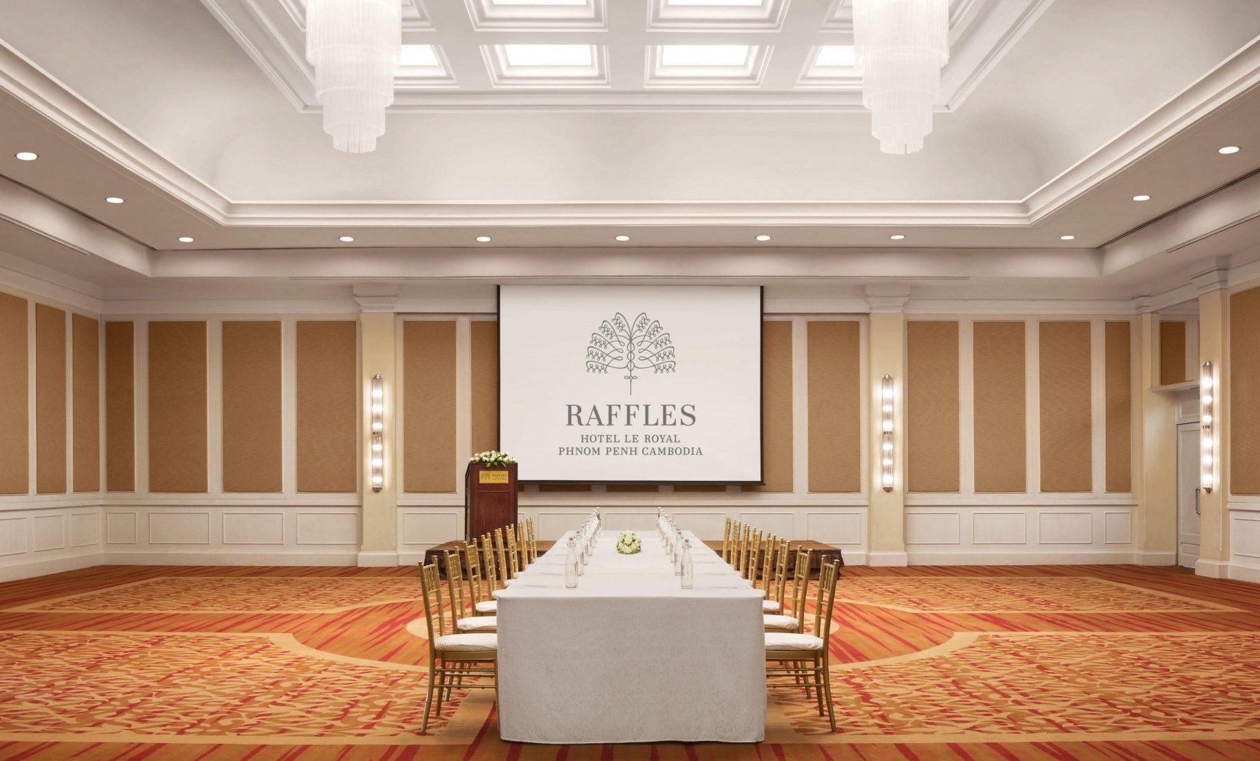 Raffles Hotel Le Royal Phnom Penh - Royal Ballroom