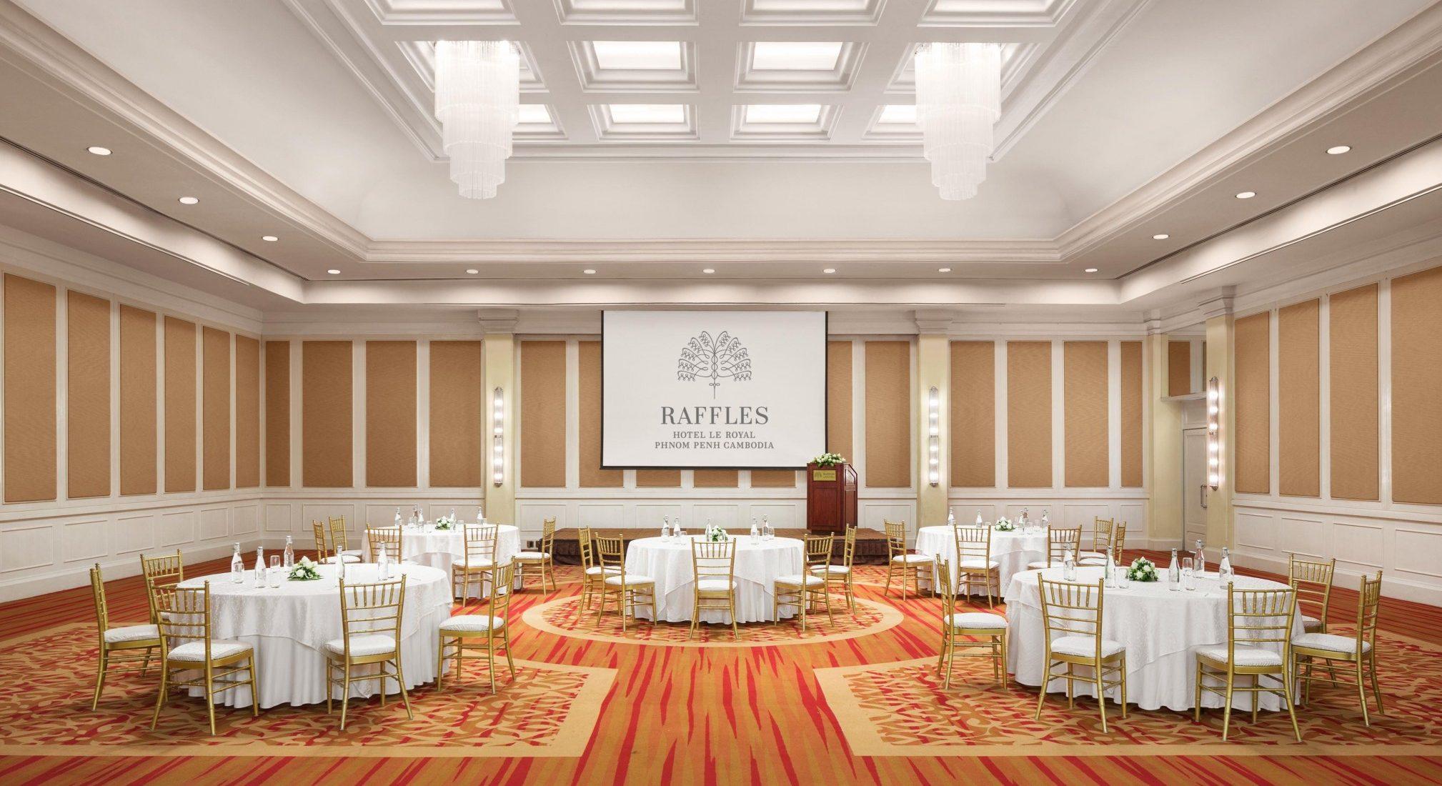 Raffles Hotel Le Royal Phnom Penh - Raffles Weddings